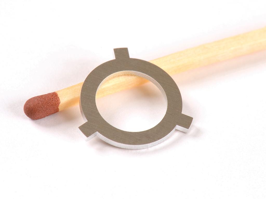 <h1>Laserskæring</h1><p>Aluminiums emne.<br />Materiale tykkelse 1.00 mm.</p>