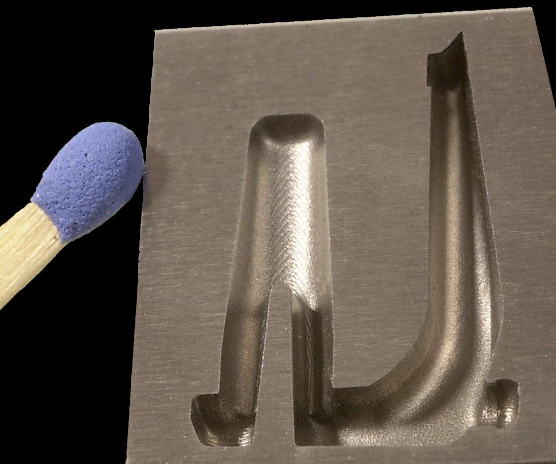 <h1>Bevægelig formpart</h1><p>2 mm. dyb.<br /></p>