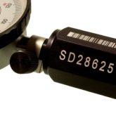 <h1>Identifikation af måleværktøj</h1><p>Data/matrix, -stregkoder, tekst og fortløbende serienumre.<br /></p>