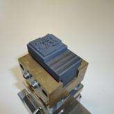 <h1>Laserbearbejdning af grafit elektrode</h1><p>Største dybde 4 mm.<br /></p>