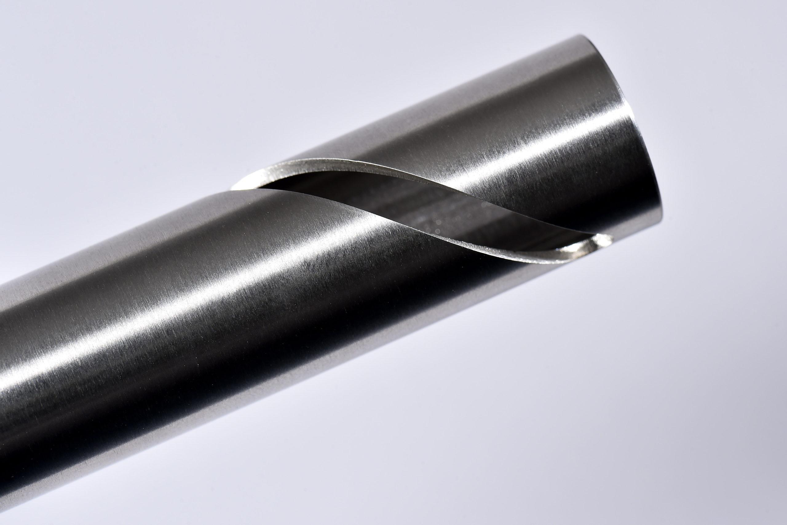 <h1>Laserskæring</h1><p>Rustfrit stål emne.<br />Diameter udv. Ø19, indv. Ø16 mm.</p>