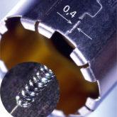 <h1>Lasersvejsning</h1><p>Medico emne hvor materiale tykkelsen er 0,2 mm.<br />Belagt indvendig med guld og plastfolie.</p>